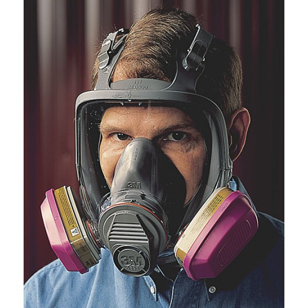 3M™ 6000 Full Face Respirator - Item #RF6000