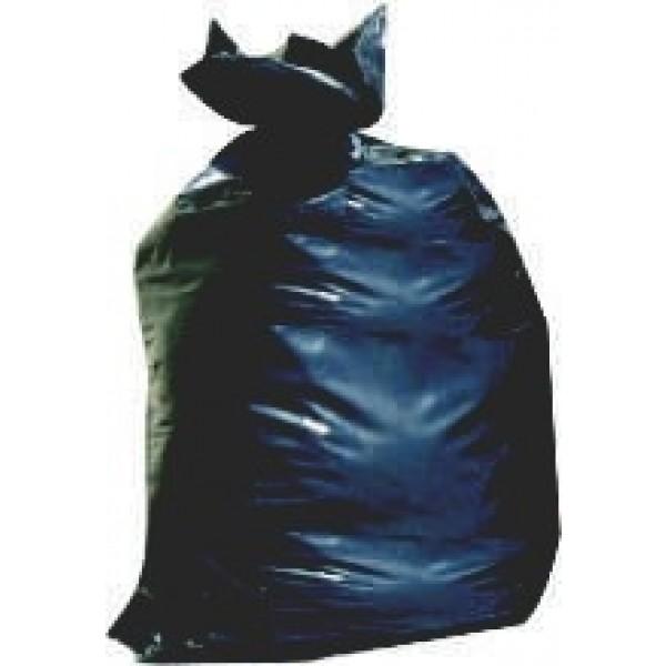 """Black Trash Bags 33"""" x 50"""" 5 Mil Black - No Print 75/roll"""