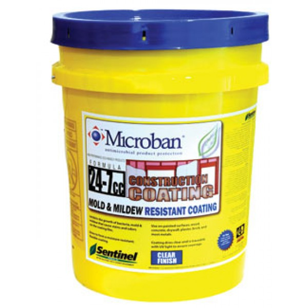 Sentinel 24-7 CC Mold and Mildew Resistant Construction Coating