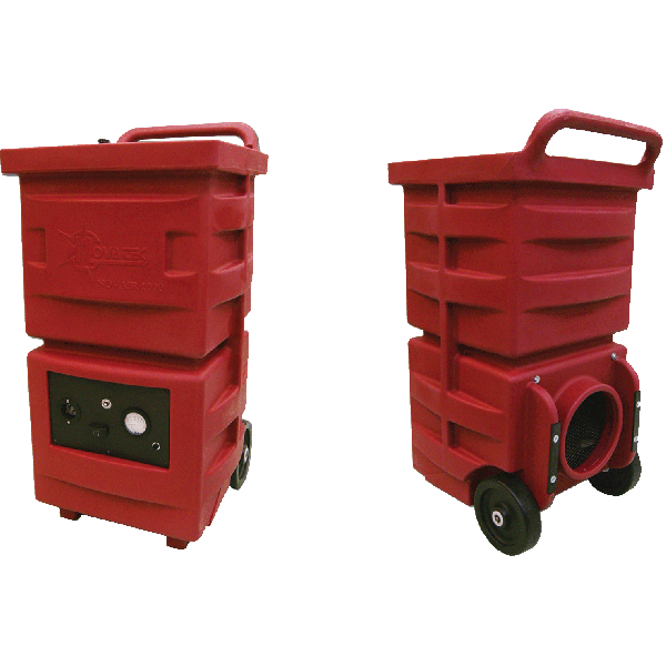 Novatek's Novair 1000 Negative Air Machine w/ HEPA, Audible & Visual Alarms - Item #AM0104-A