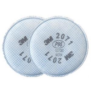 3M Pancake Filters 2071-P95 2/pk