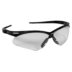 Jackson Safety Nemisis Safety Glasses Clear Lens/Black Frame