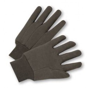 Brown Jersey Gloves / doz.