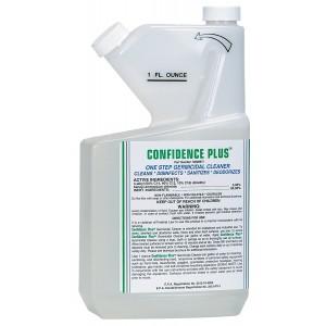 MSA 10009971 Confidence Plus Liquid Germicidal Cleaner, 32 oz. Volume