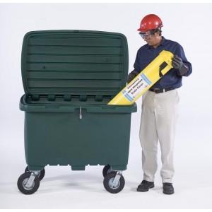Ultra-Forest Green Utility Box w/ 8 In Pneumatic Wheels - Item #SK0866