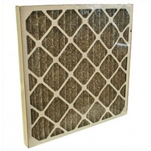 """TheSafetyHouse Charcoal Pleated Filters 12/case (16"""" x 16"""" x 2"""")"""