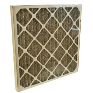 Charcoal Pleated Filter 24x24x2 12each/case - Item #AF0040-24/24