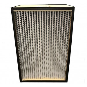 "HEPA Filter-Wooden 16"" x 24 "" x 11.5"" /ea - Item #AF0050-16/24"