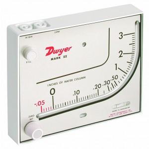 Dwyer Series Mark II 25 Molded Plastic Manometer