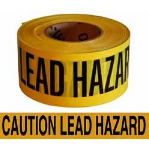Lead Hazard Tape 3x1000'