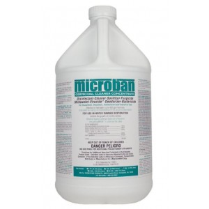 Microban - GCC - Germicidal Cleaner Concentrate - formerly QGC (Quaternary Germicidal Cleaner) - Concentrated - Mint Fragrance4 Gallons = 1 Case - 221592905