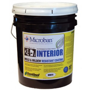 Sentinel 24-7 Interior Mold and Mildew Resistant Coating
