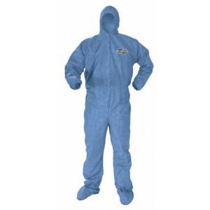 Kimberly Clark A60 Kleenguard(Ultra) 3XL-Hood, Boots, Elastic Wrists & Ankles 20/case #45096