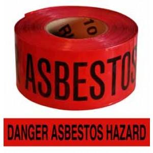 Asbestos Hazard Tape 3x1000'