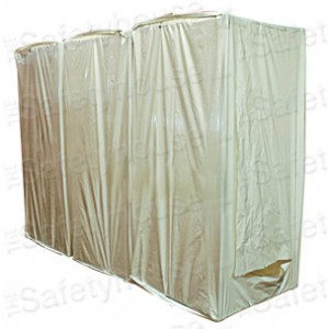 Disposable 3-Stage Decontamination Shower