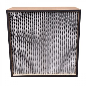 """TheSafetyHouse High Capacity Wooden HEPA Filter 24"""" x 24"""" x 11.5"""" For Negative Air Machines, True 2000 CFM"""