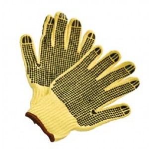Kevlar String Knit Double Dot Gloves