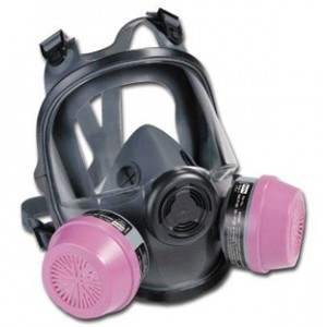 North 5400 Full Face Respirator-CARTRIDGES SOLD SEPARATELY