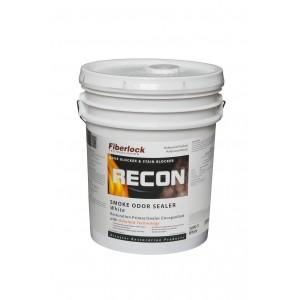 Fiberlock RECON Smoke Odor Sealer White, 5 Gallon