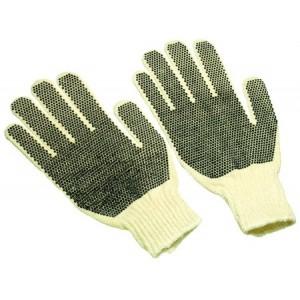 Global String Knit Gloves - Mens -Double Dots/dozen