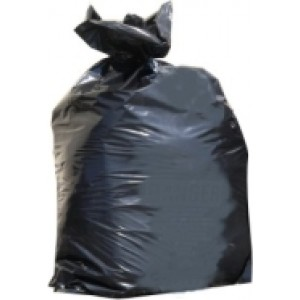 Black Trash Bags: 3 Mil 3 PLY 33x48 case / 100 per case