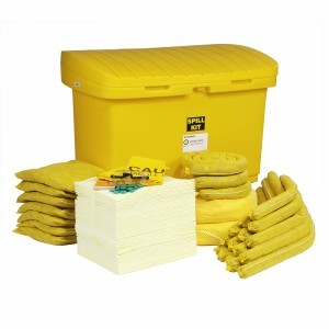 HazMat Spill Cart Kit With 5 Inch Wheels