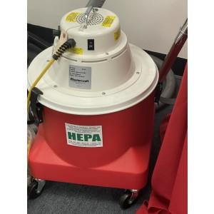 Mastercraft Enviromaster C5 Compact HEPA Critical Filter Dry Vacuum