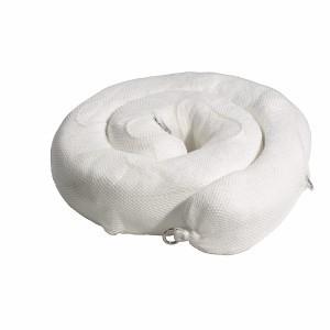 Oil-Only Sock/Net Boom - 5 in x 10 ft, White 4/bale