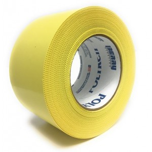 Nashua 833 3'' Yellow PE Tape, 16/case