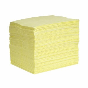 HazMat SonicBonded Pads, Single Weight - 200 ct. - Item #SR1013-H