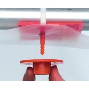 Plastic Poly Hanger #4 - #TT0172